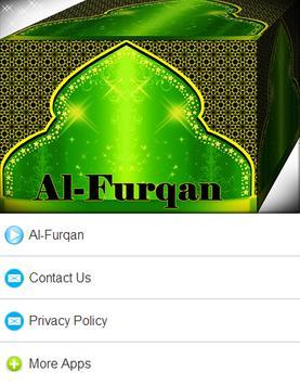 Surah Al - Furqan Mp3 apk screenshot