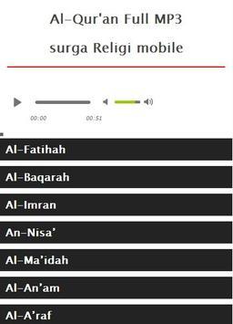 Surah Al Imran MP3 screenshot 5