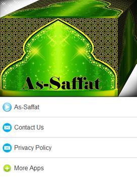 Surah As - Saffat Mp3 poster