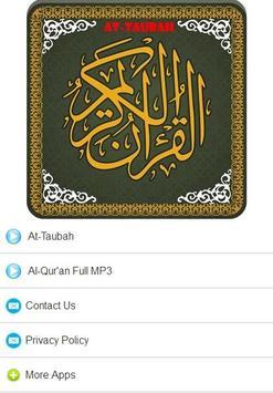 Surah At Taubah MP3 poster