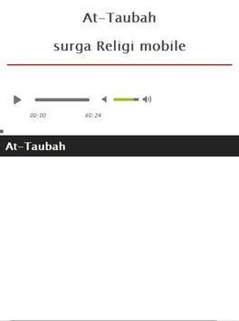 Surah At Taubah MP3 screenshot 1