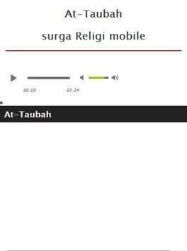 Surah At Taubah MP3 apk screenshot