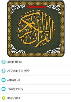 Surah Hood MP3 screenshot 3
