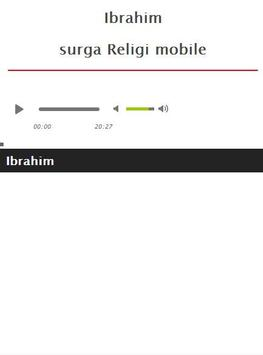Surah Ibrahim MP3 screenshot 4