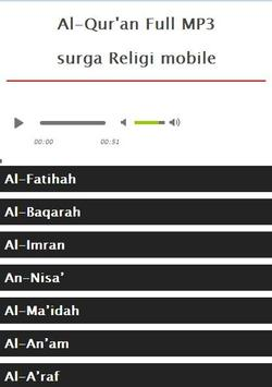 Surah Ibrahim MP3 screenshot 2