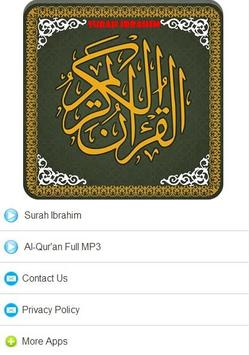 Surah Ibrahim MP3 screenshot 3