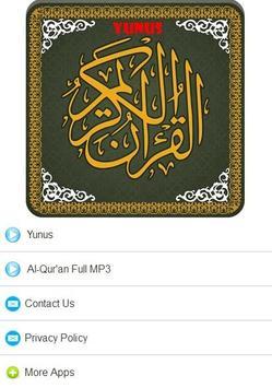 Surah Yunus MP3 poster