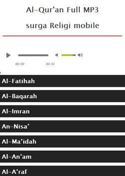 Surah Yunus MP3 apk screenshot