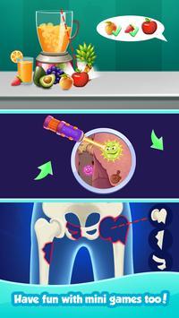 Crazy Pool Party Doctor Games apk screenshot