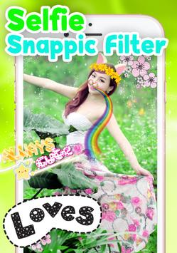 Selfie Snappic Photo Editor screenshot 2