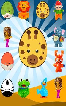 Surprise Eggs - Learn Animals screenshot 4