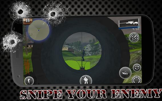 Sniper Fury Assassin Shooting Gun Killer Games 3D screenshot 6