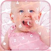 Sweet Baby Pic Keyboard Theme icon