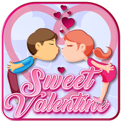 Sweet Valentine Wallpaper Design icon