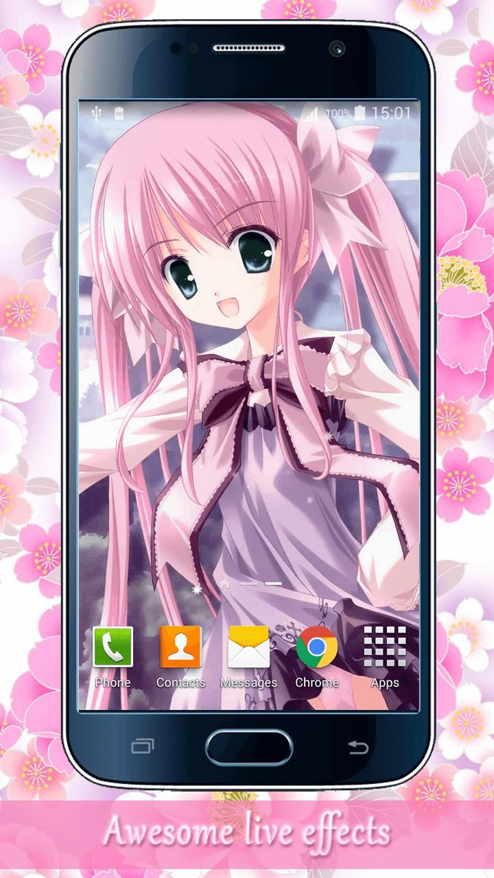 Anime Manis Gadis Wallpaper For Android APK Download