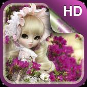 Sweet Dolls Live Wallpaper HD icon