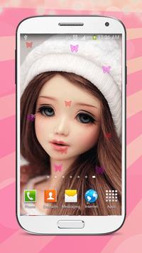 Sweet Dolls Live Wallpaper HD screenshot 3