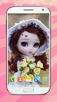 Sweet Dolls Live Wallpaper HD screenshot 8