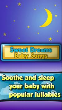 Sweet Dreams - Baby Songs Free poster