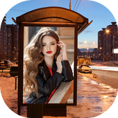 Photo In A Hole - Billboard Photo Frames icon