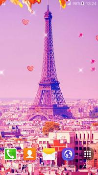 Sweet Paris Live Wallpaper HD poster