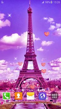 Sweet Paris Live Wallpaper HD screenshot 3