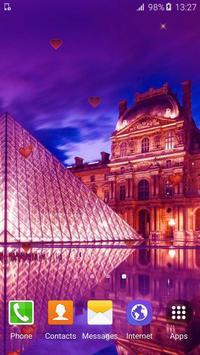 Sweet Paris Live Wallpaper HD screenshot 4