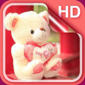 Sweet Teddy Bear Wallpaper icon