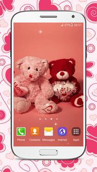 Sweet Teddy Bear Wallpaper screenshot 4