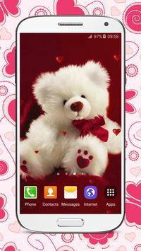 Sweet Teddy Bear Wallpaper screenshot 5