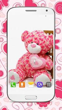Sweet Teddy Bear Wallpaper screenshot 1