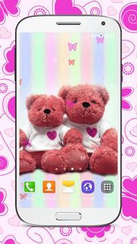 Sweet Teddy Bear Wallpaper screenshot 2