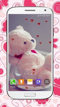 Sweet Teddy Bear Wallpaper apk screenshot