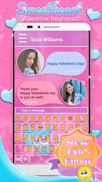Sweetheart Valentine Keyboard poster