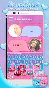Sweetheart Valentine Keyboard poster