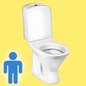 Male Toilet Simulator icon