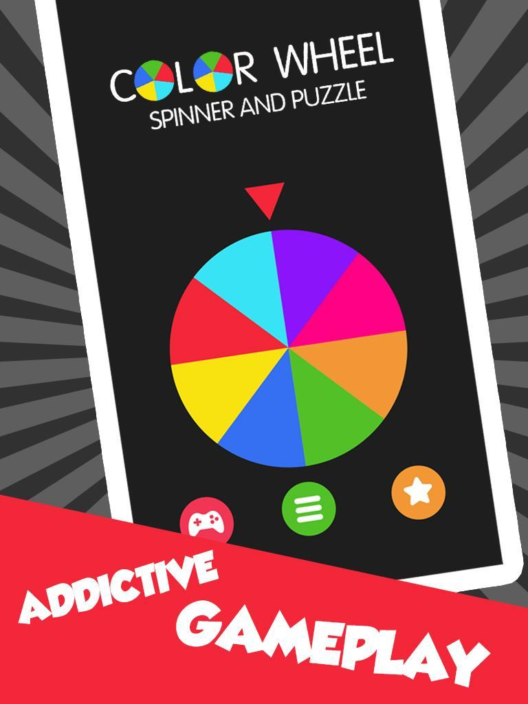 Color Wheel Spinner and Puzzle for Android - APK Download
