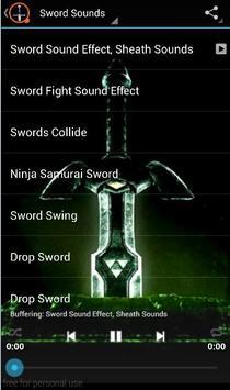 Sword Sounds apk screenshot