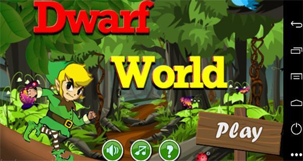 Drawf world star castle jungle poster