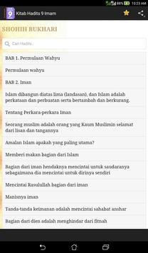 Kitab Hadits 9 Imam screenshot 2
