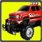 Monster Car Jump icon