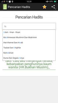 Pencarian Hadits screenshot 2