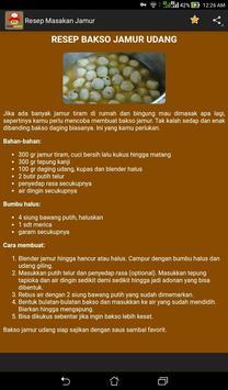 Resep Masakan Jamur screenshot 3