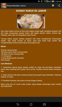 Resep Masakan Jamur screenshot 6