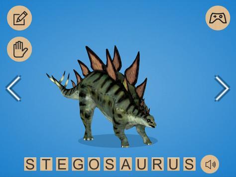 Dinosaur 3D Coloring screenshot 8