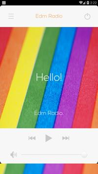 Edm Radio Stations poster