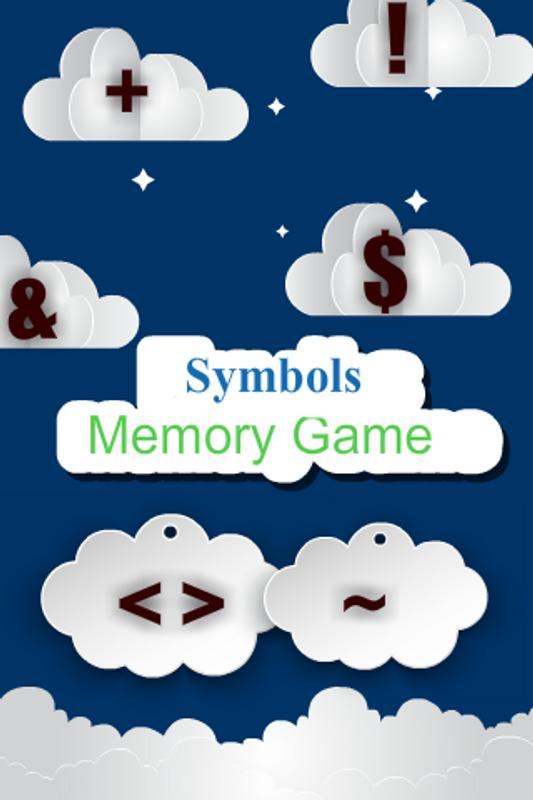 Symbols Memory Game For Android Apk Download