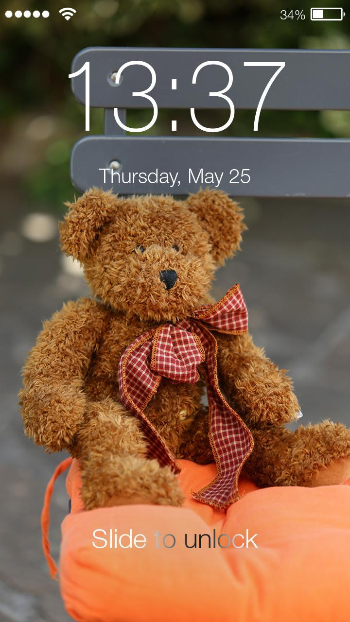 Cute Teddy Bear Wallpaper Hd Phone Lock Screen For Android