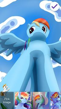 Rainbow Pony Princess Wallpapers PIN Lock Screen screenshot 1