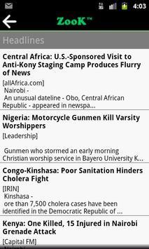 Zook - African News & Media screenshot 1